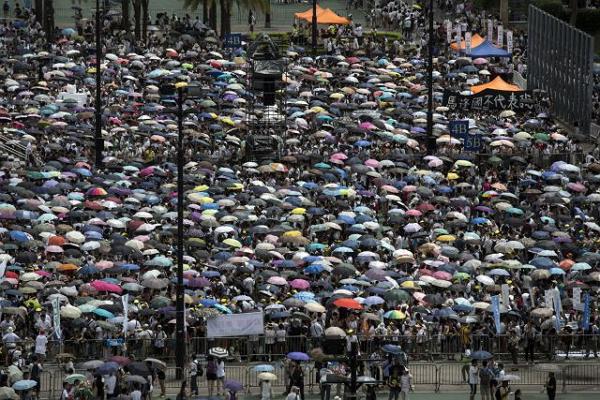 """香港""""雨伞革命""""图9"""