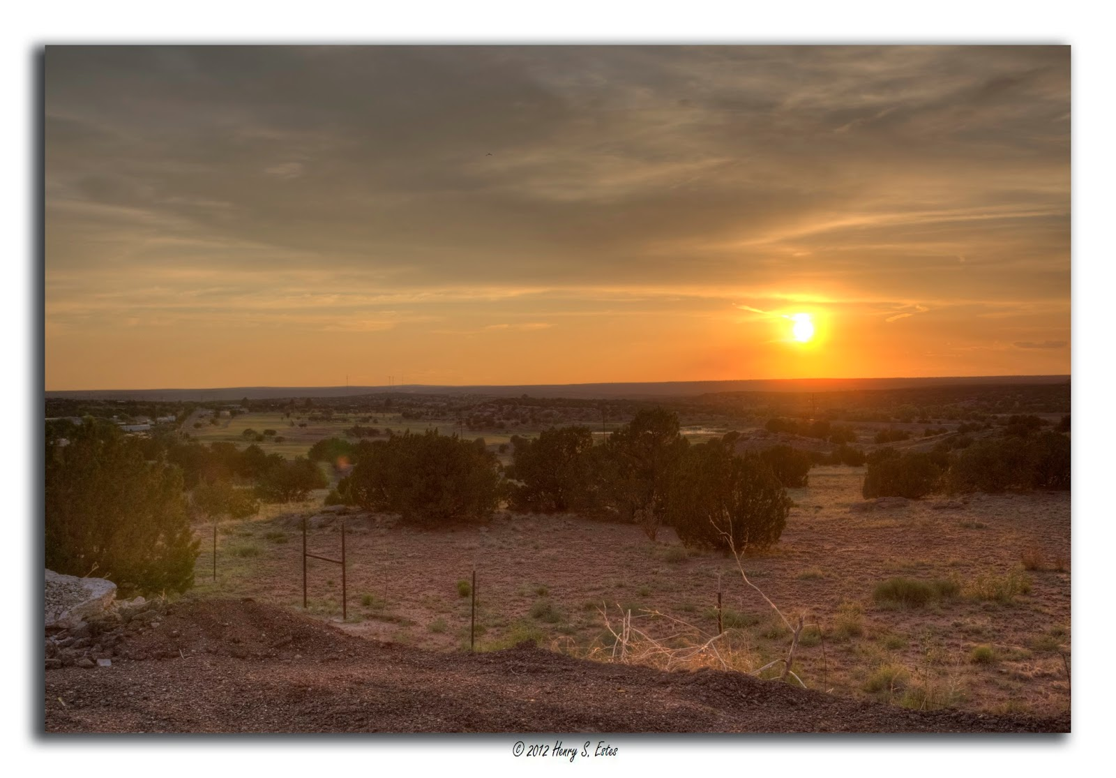 Westward Sunset