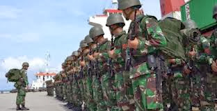Pasukan Yonif 100/Raider Jaga 13.544 patok di Kalimantan Timur