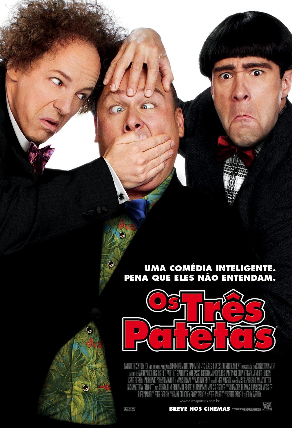 Imagens Os Três Patetas (2012) Torrent Dublado 1080p 720p BluRay Download