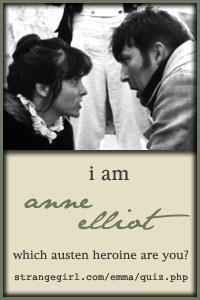 Jane Austen Heroine's Quiz