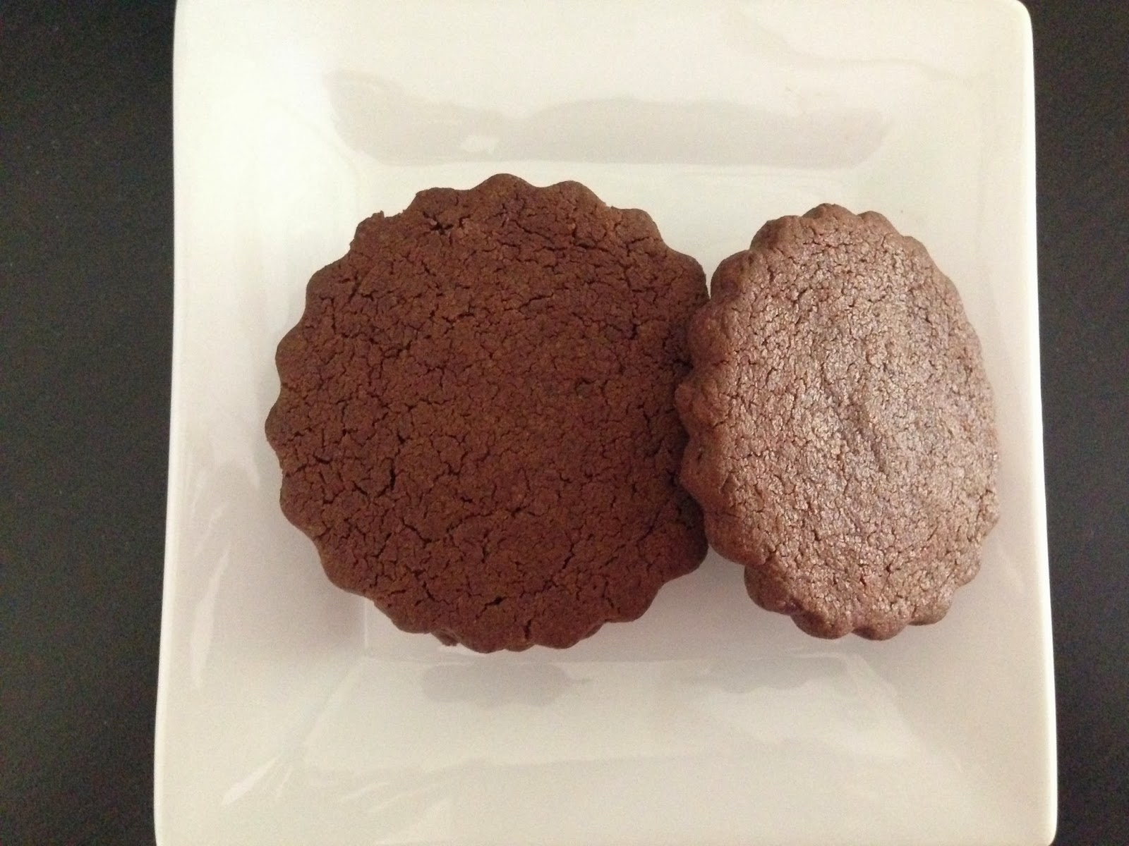 Life By Appointment: Chocolate Sable Cookies