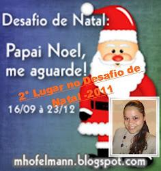 2° Lugar no Desafio de Natal 2011