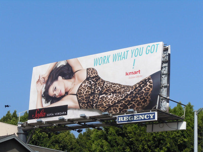 Sofia Vergara Kmart billboard