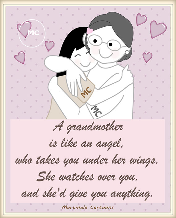 I Love You Nana Quotes : grandma grandmother nana quotes illustrations a grandmother is like an ...