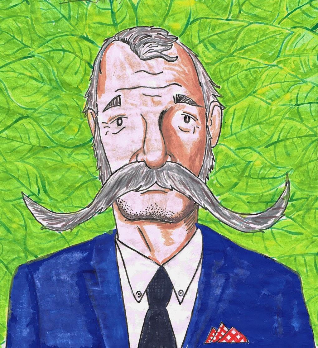 Lushstache Bill - Ben J Hutchison