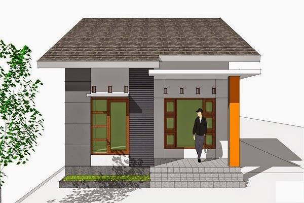 desain sederhana rumah modern