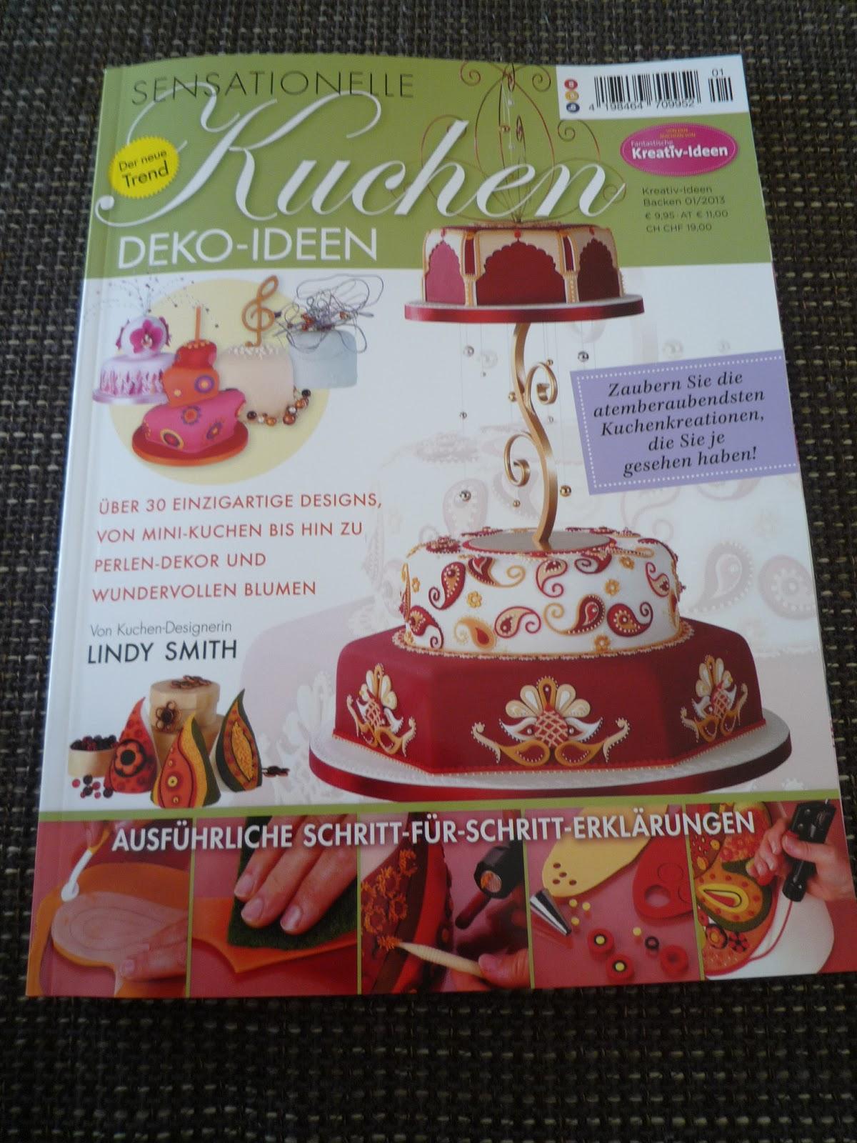 Sensationelle Kuchen Deko-Ideen, Tortenzeitschrift, Tortenmagazin, Fondanttorten, Tortendekorationen, Torten