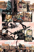 Sissy and Fox tell the story of Death's daughter, Ginny, in Pretty Deadly 1