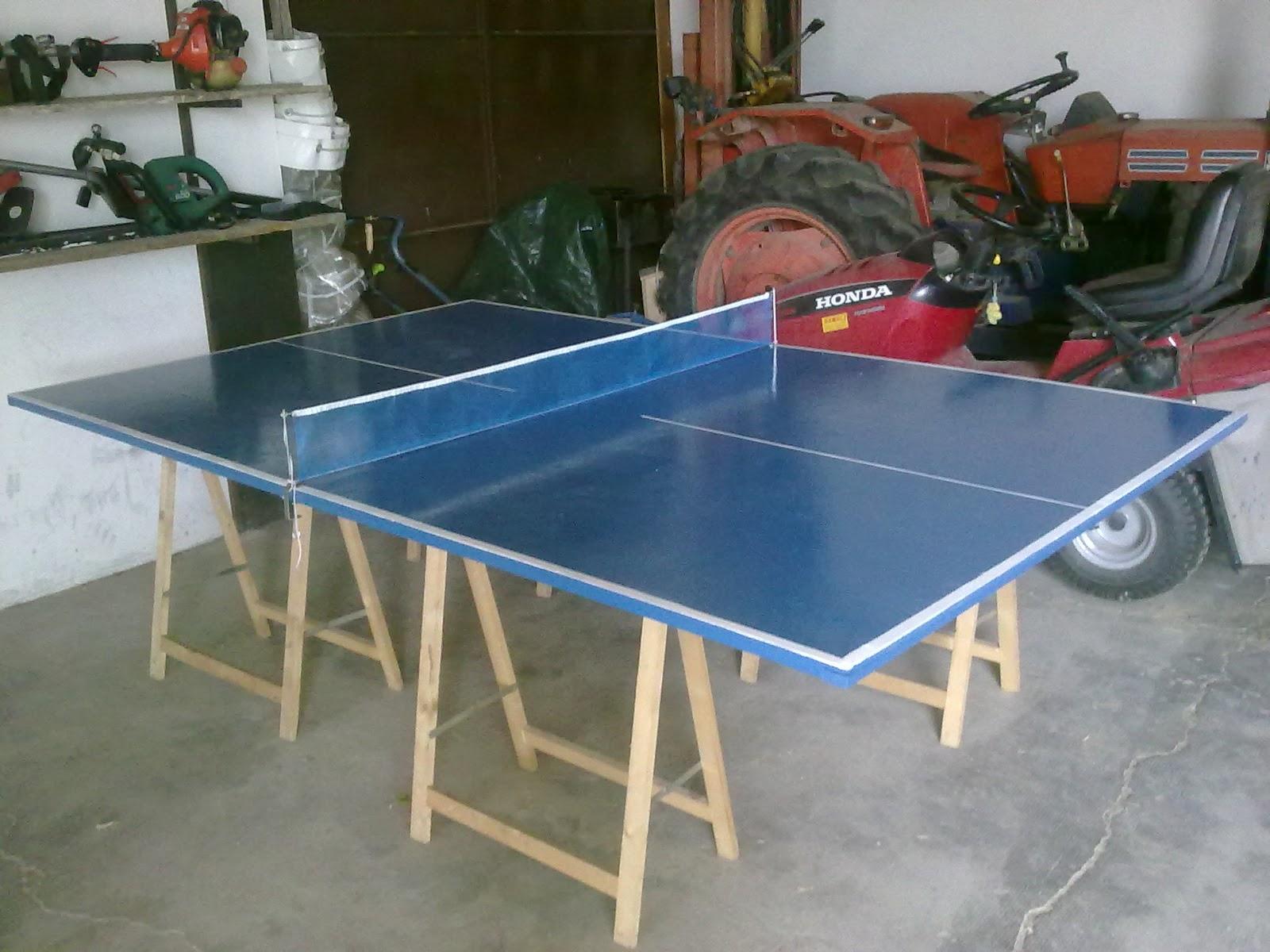 Fai da te for Costruire tavolo ping pong