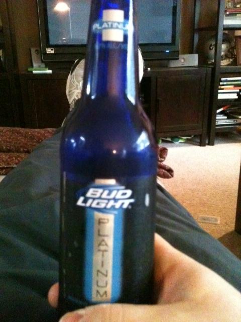 Nice Bud Light Platinum Beer