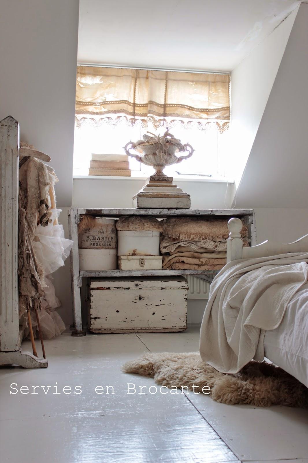 Servies en brocante verbouwing is klaar slaapkamer - Mooie meid slaapkamer ...