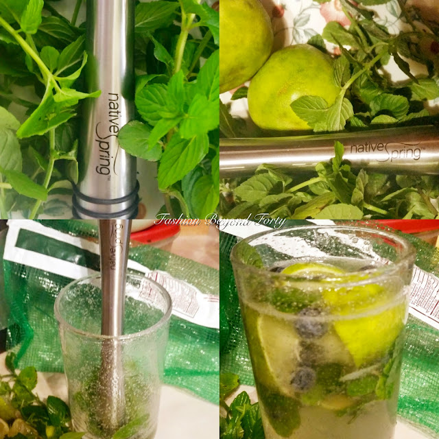 Native Spring Drink / Mint Muddler for Mojitos