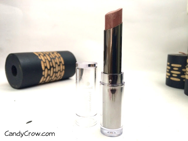 Lakme Absolute Gloss Addict- Coffee Shot Lipstick Review