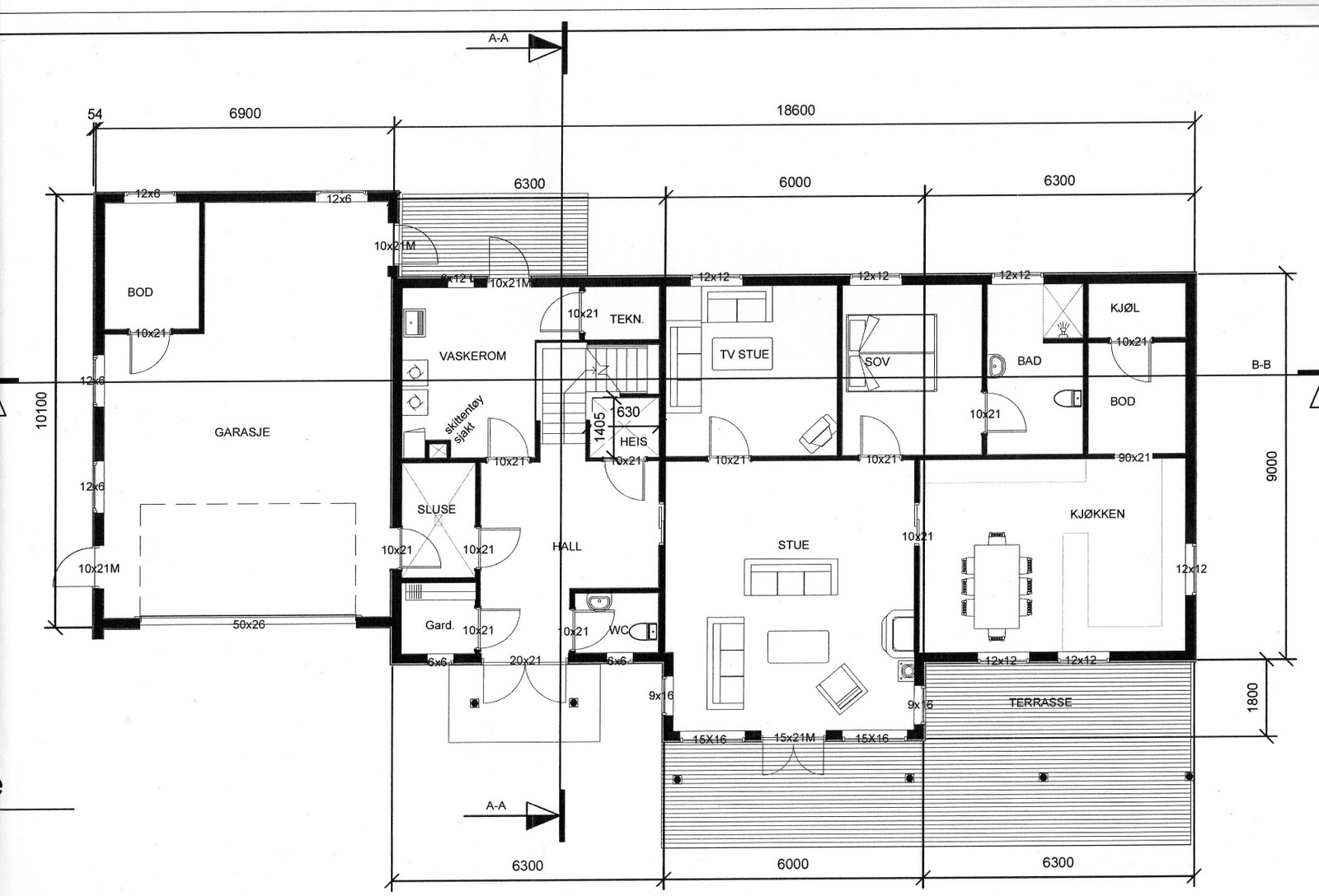 Anno 2009-Hjem og S?nt: Forh?pentligvis de aller siste hustegningene