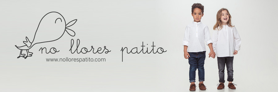 No llores patito. Moda infantil 100% adorable