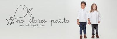 No llores patito. Moda infantil española para niños y niñas 100% adorable