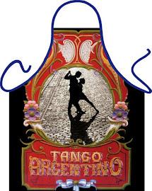 DELANTAL TURÍSTICO - TANGO ARGENTINO