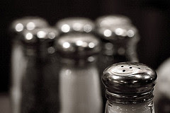 Salt Shakers by TheGiantVermin via Flickr and a Creative Commons license