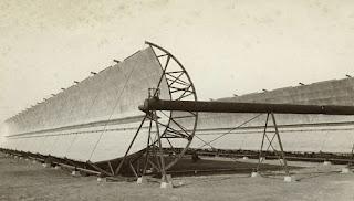 اول محطة طاقة شمسيه فى العالم كانت فى مصر