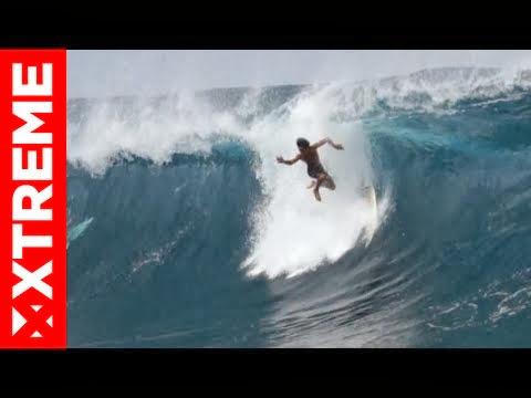 BEST WIPEOUTS - MASSIVE TEAHUPOO TAHITI 2013