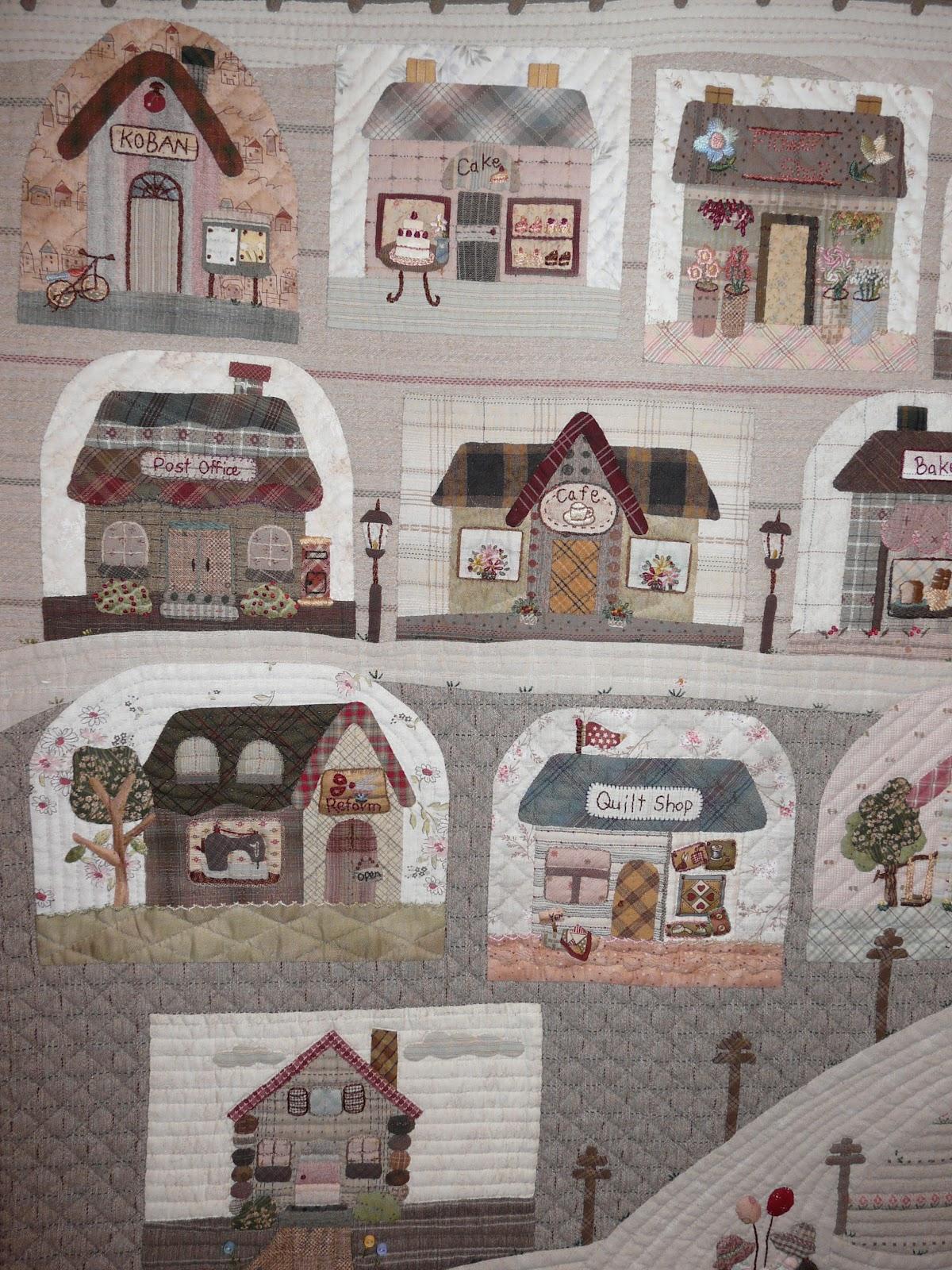 Mi hogar de patchwork reiko kato - Patchwork en casa patrones ...