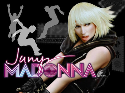 Madonna jump HD Wallpapers