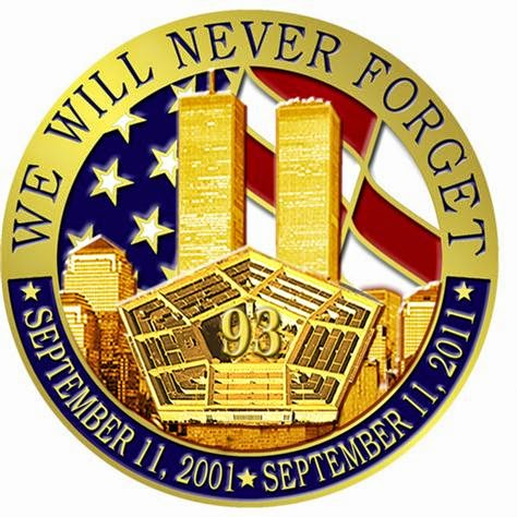 never forget 9-11 image