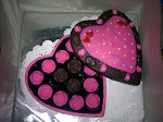 Coklat box LOVE size L + 25 paraline