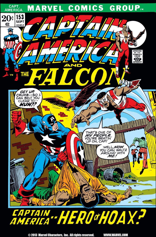 Captain America (1968) Issue #153 #67 - English 1