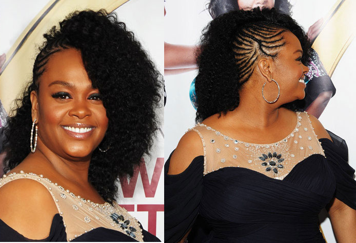 Wavy Weave Hairstyle