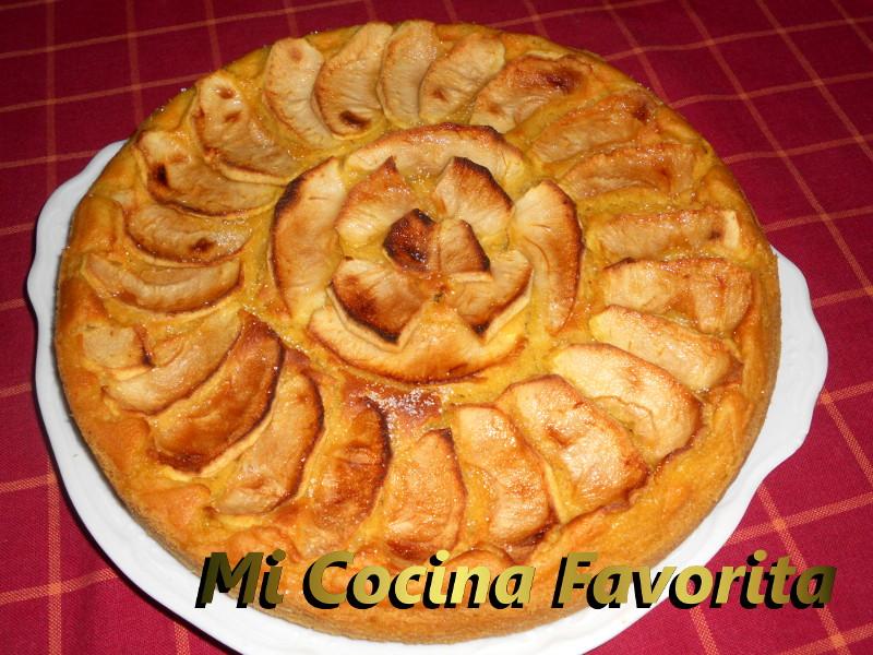 Mi cocina favorita tarta super f cil de manzana thermomix for Cocina thermomix facil