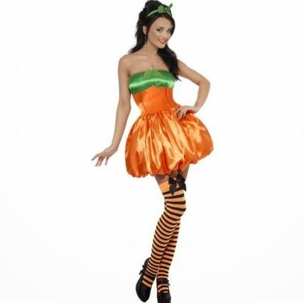 Prepara tu disfraz de calabaza para Halloween