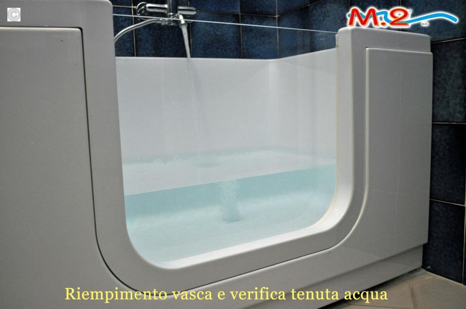 M.2 Trasformazione vasca in doccia e sistema Vasca nella Vasca : VASCA CON SPORTELLO A MILANO