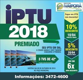 IVAIPORÃ  - Seu IPTU premiado 2018