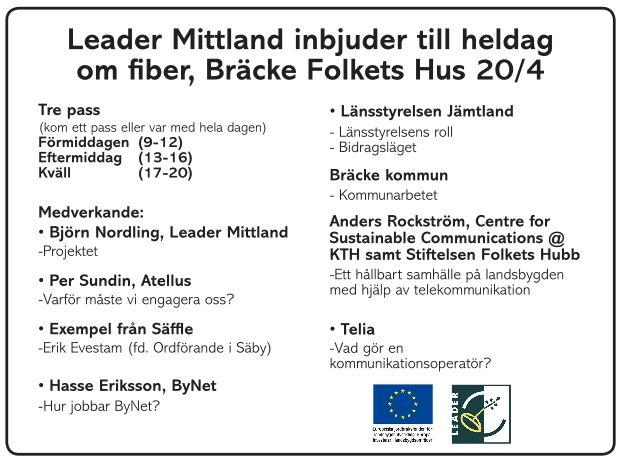 Annons Bredbandsinformation Bräcke