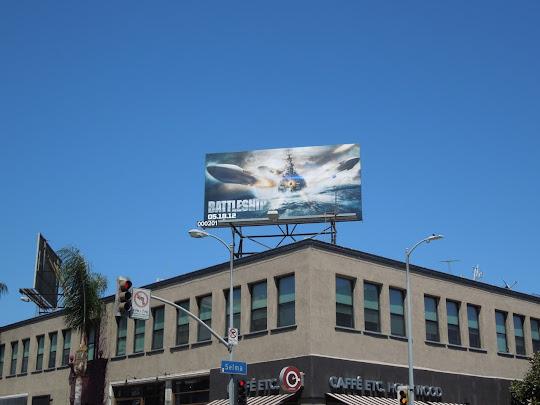 Battleship movie ad