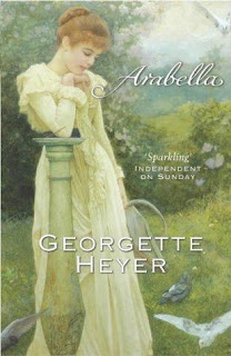 Green Cover of Arabella by Georgette Heyer