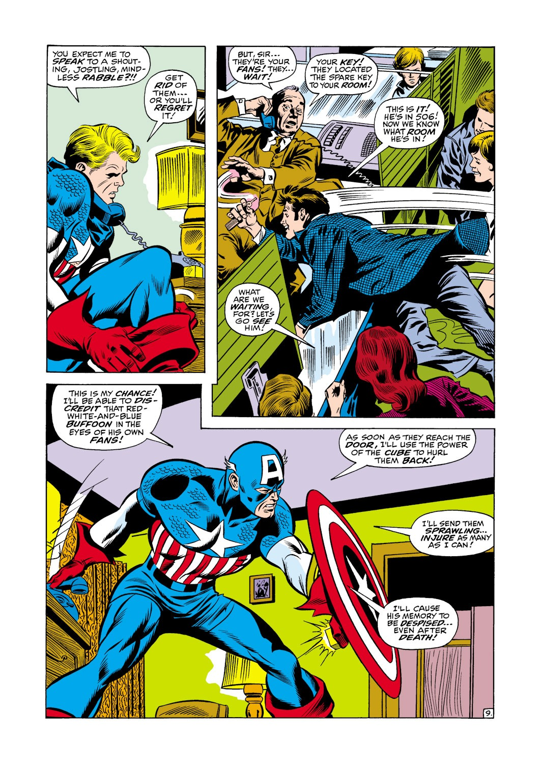 Captain America (1968) Issue #118 #32 - English 10
