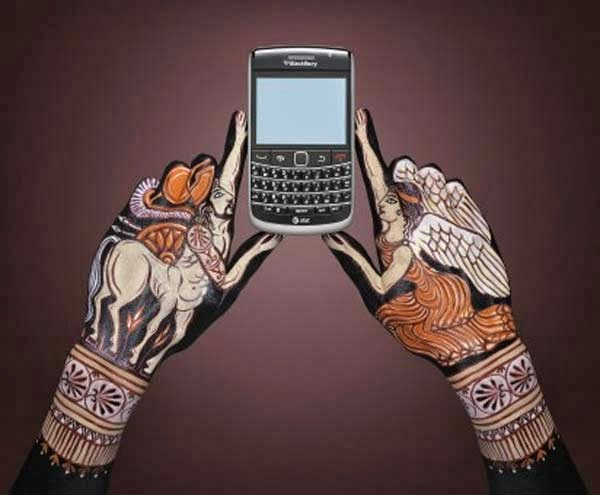 Guido Daniele, hand painting, at&t, publicidad
