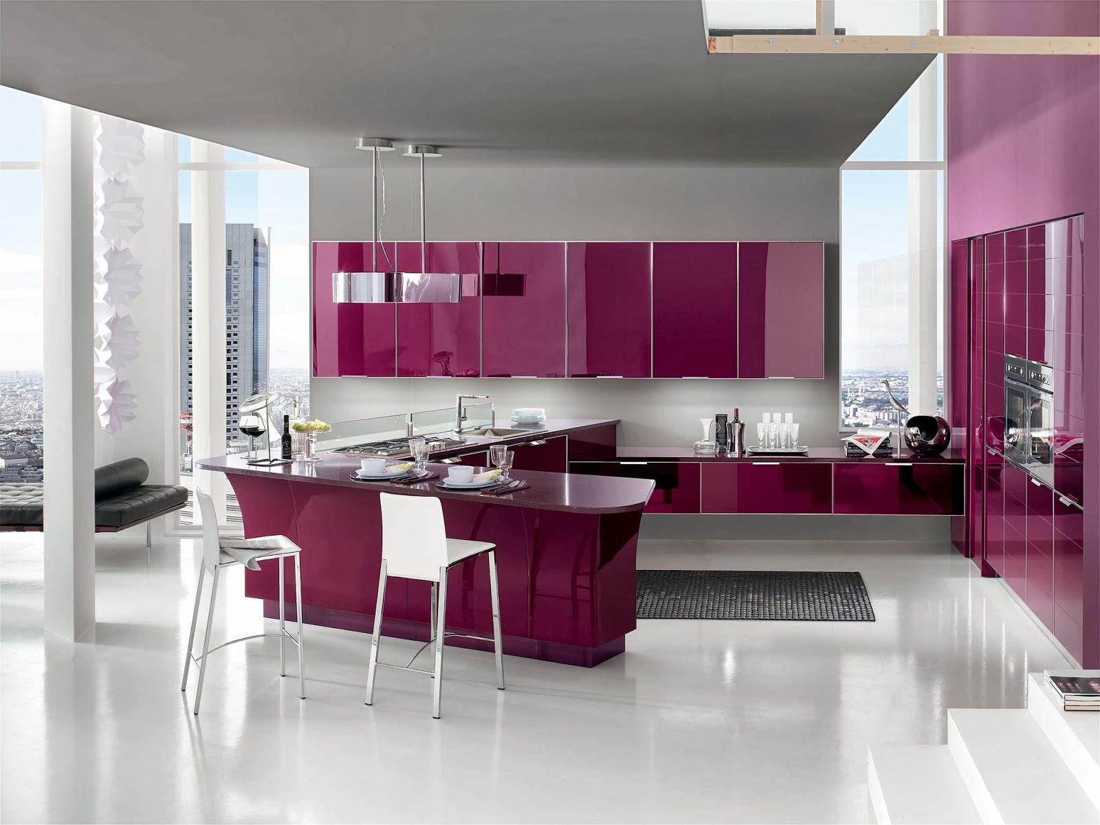 Cucine moderne le migliori soluzioni per arredare la tua - Ante in vetro cucina ...