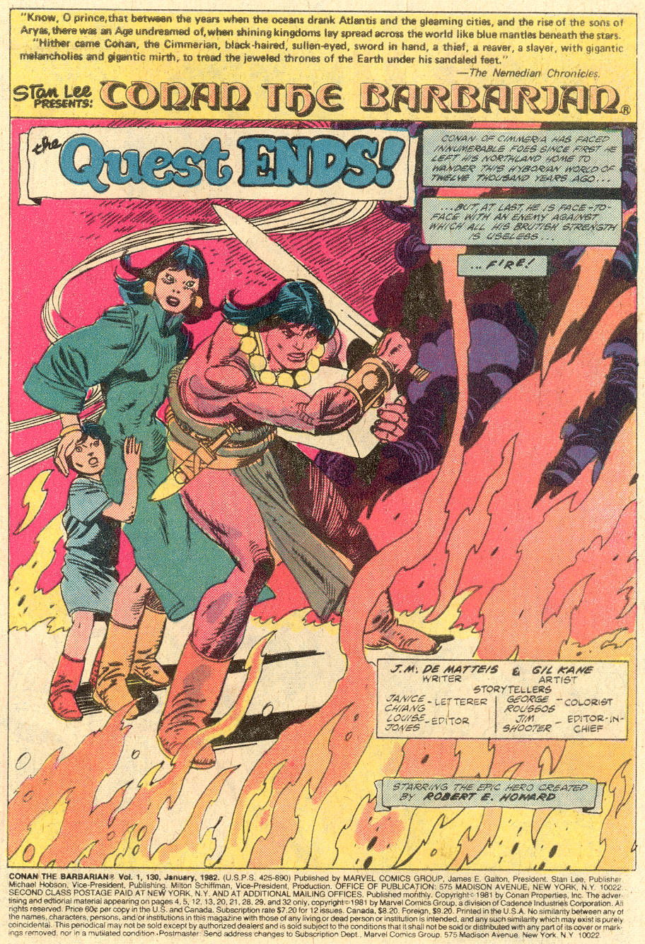 Conan the Barbarian (1970) Issue #130 #142 - English 2