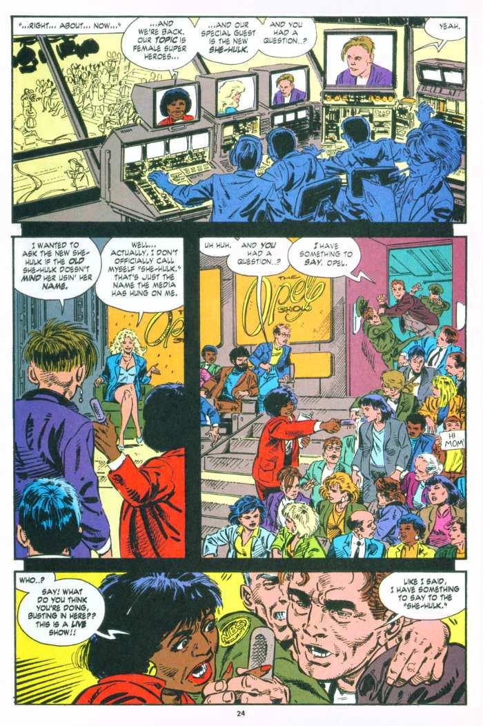 The Sensational She-Hulk Issue #49 #49 - English 21