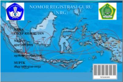 Nomor Registrasi Guru (NRG) 2013 untuk Guru PAI dapat didownload di sini.
