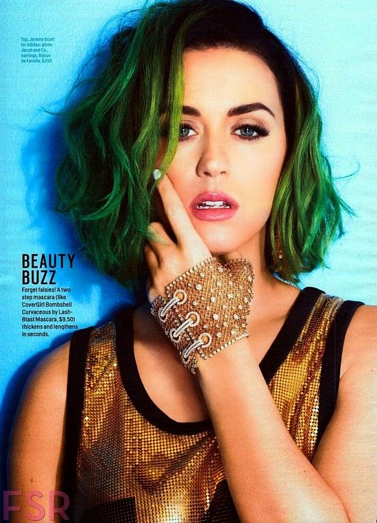 Yes, the Cosmopolitan magazine for the July 2014 issue were shedding a squeaky clean images of the greatest singer, Katy Perry ever.