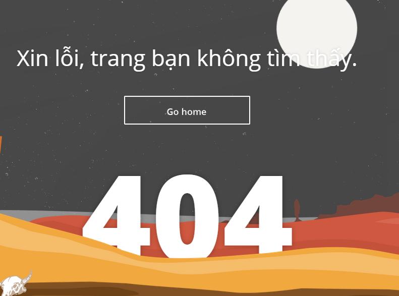 Tạo trang báo lỗi 404 chuyên nghiệp cho Blogspot
