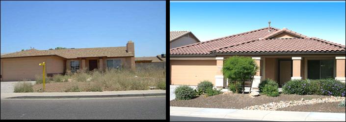 In en om die huis goedkoop tuin opknap - Huis idee ...