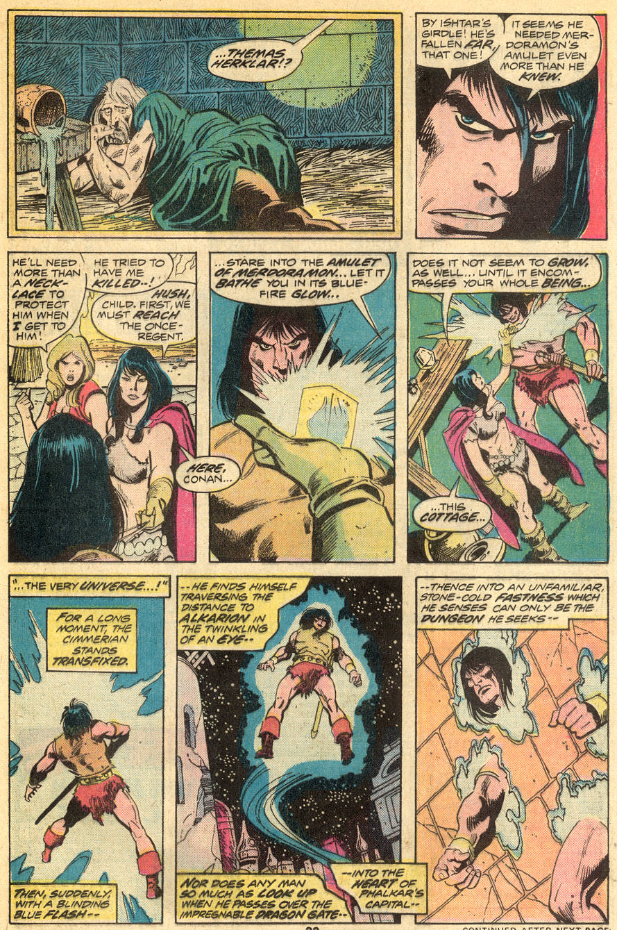 Conan the Barbarian (1970) Issue #50 #62 - English 15