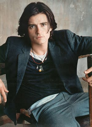 orlando bloom now. signed by Orlando Bloom as