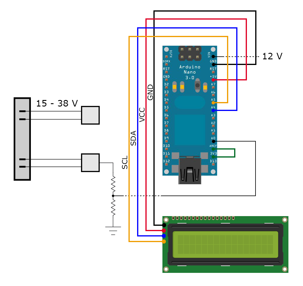 Arduino Meets Vacuum 38v Wiring Diagram The Of System Is As Follows